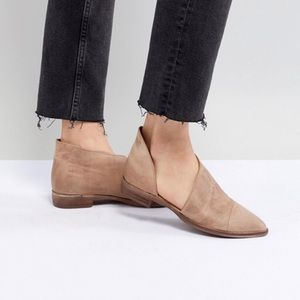 Like new free people royale pointy toe leather